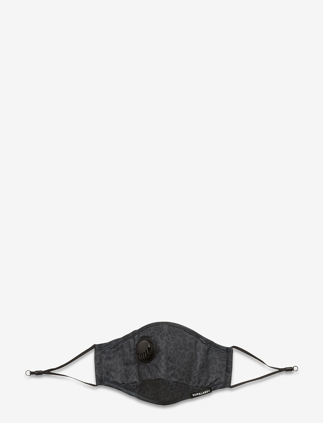 SUPALABS - LI ADULT HERO MASK BLACK LEO - gezicht maskers - black leopard - 1