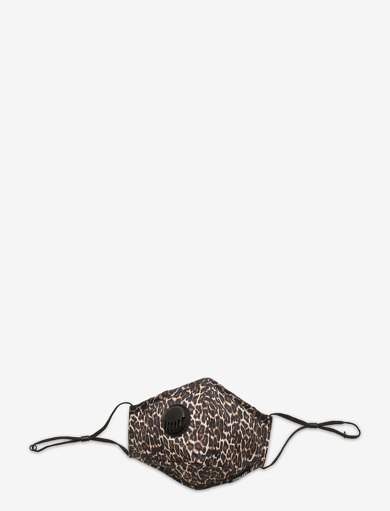 SUPALABS - LI ADULT HERO MASK LEOPARD - gezicht maskers - leopard - 0