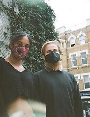 SUPALABS - LI ADULT HERO MASK RED PAISLEY - ansiktsmasker - red paisley - 0