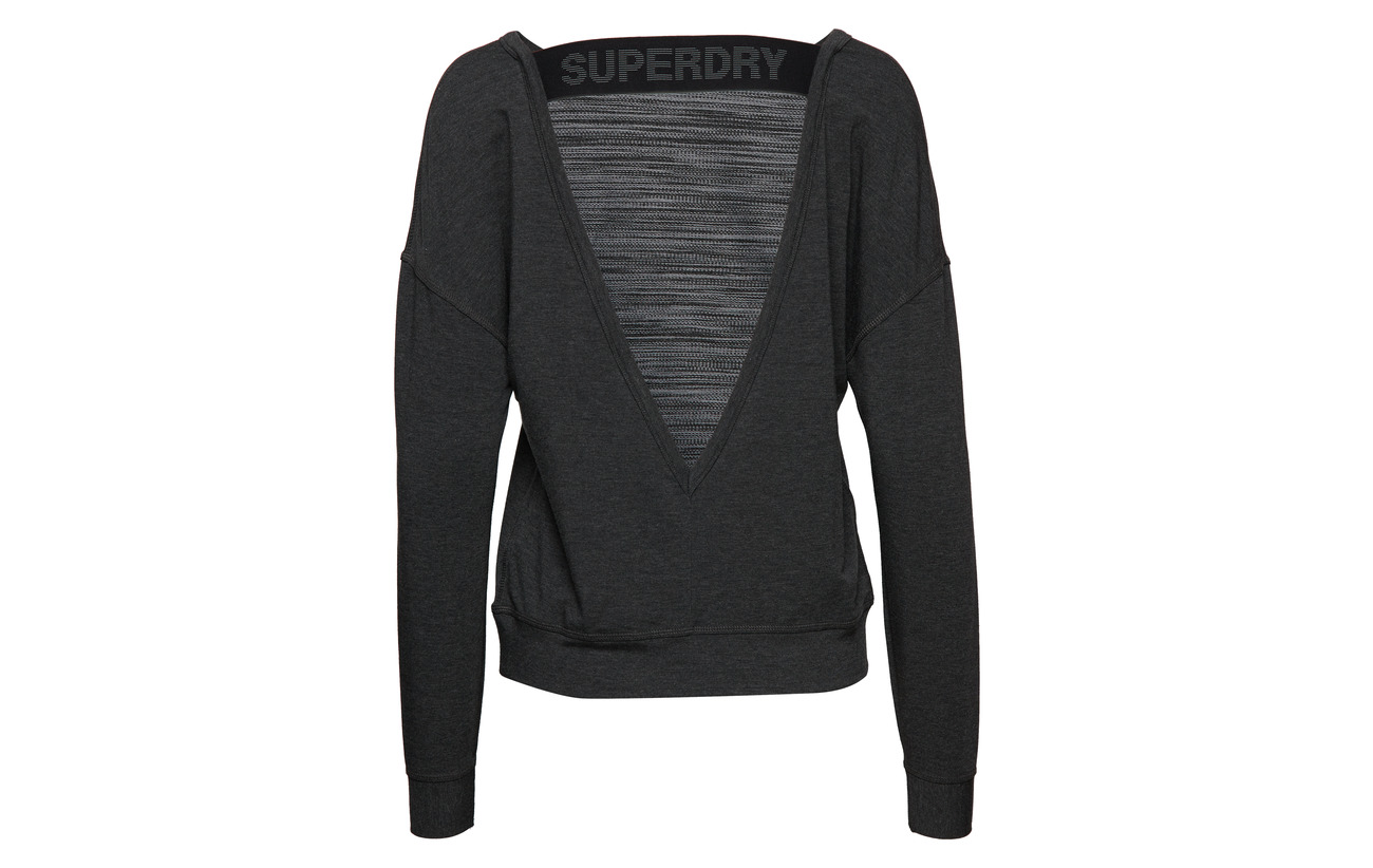 Crew Active Viscose Graphic Superdry 4 Elastane Sport Polyester 25 Neck Équipement Marl Black 71 tpTWZwWnFq