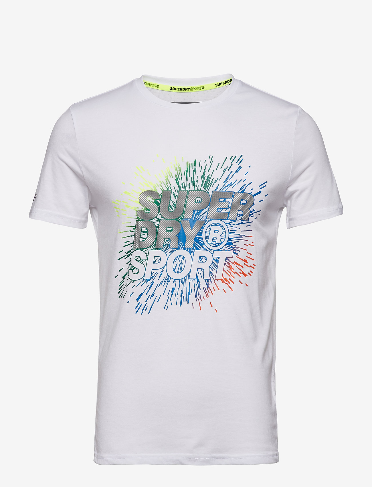 Active Explosive Tee (White) - Superdry Sport 8HYoW2