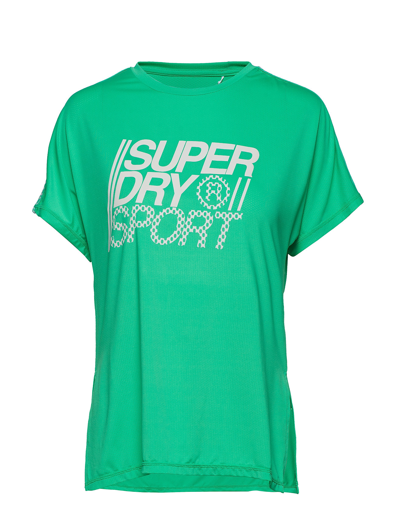 Superdry Sport CORE LOOSE TEE - SEA GLASS