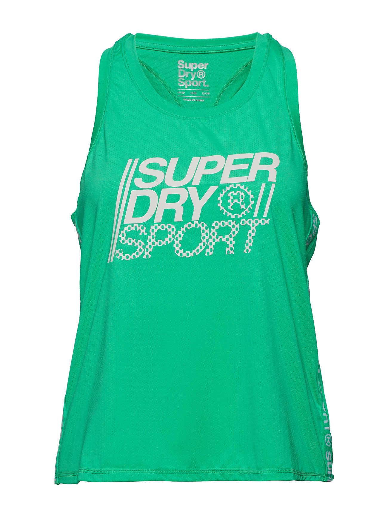 Superdry Sport CORE LOOSE VEST - SEA GLASS