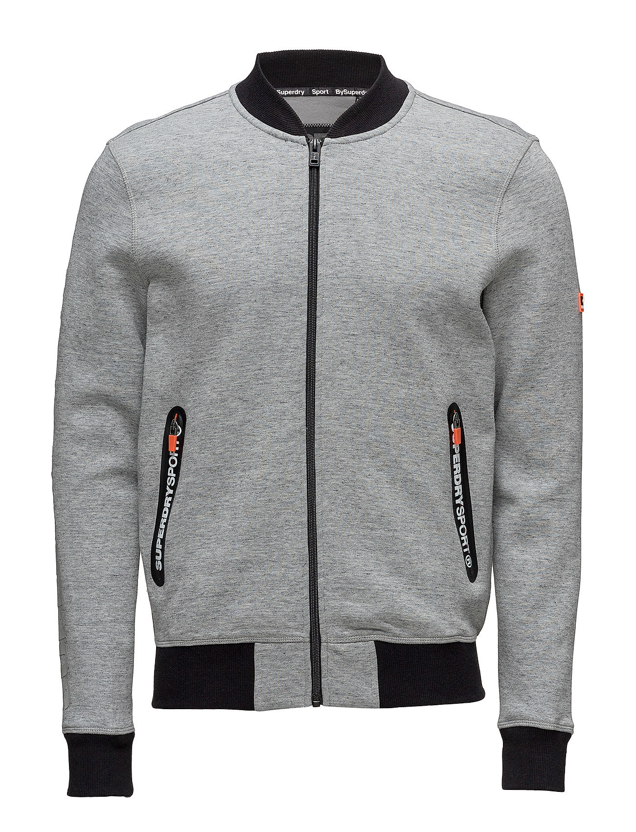 Superdry Sport GYM TECH BOMBER - GREY GRIT