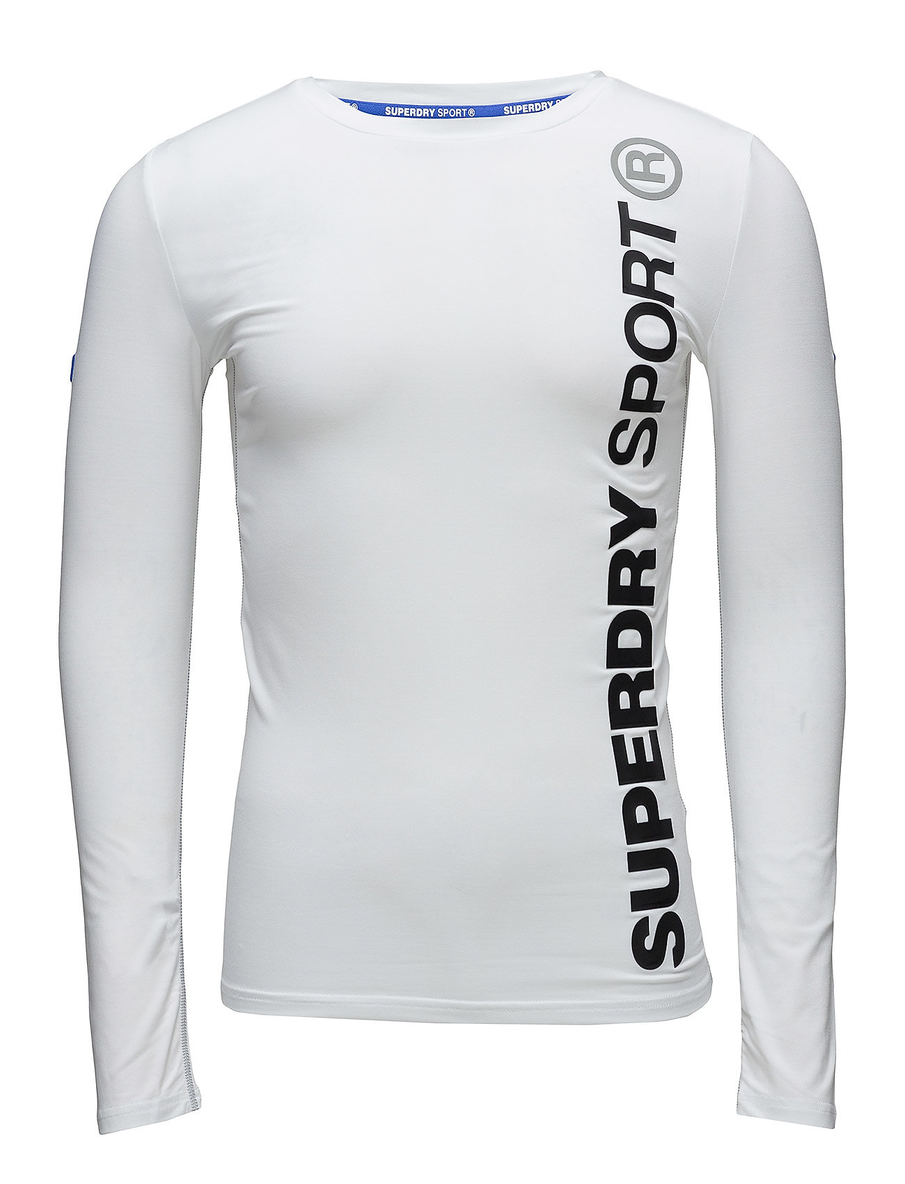 Superdry Sport SPORTS ATHLETIC L/S TOP - WHITE