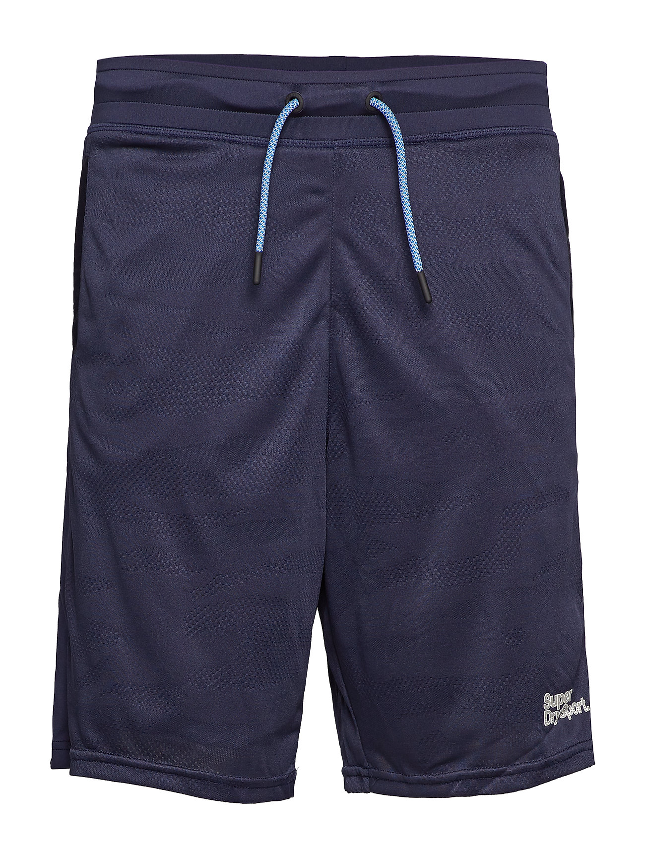 Superdry Sport ACTIVE CAMO JACQUARD SHORT - DARK NAVY