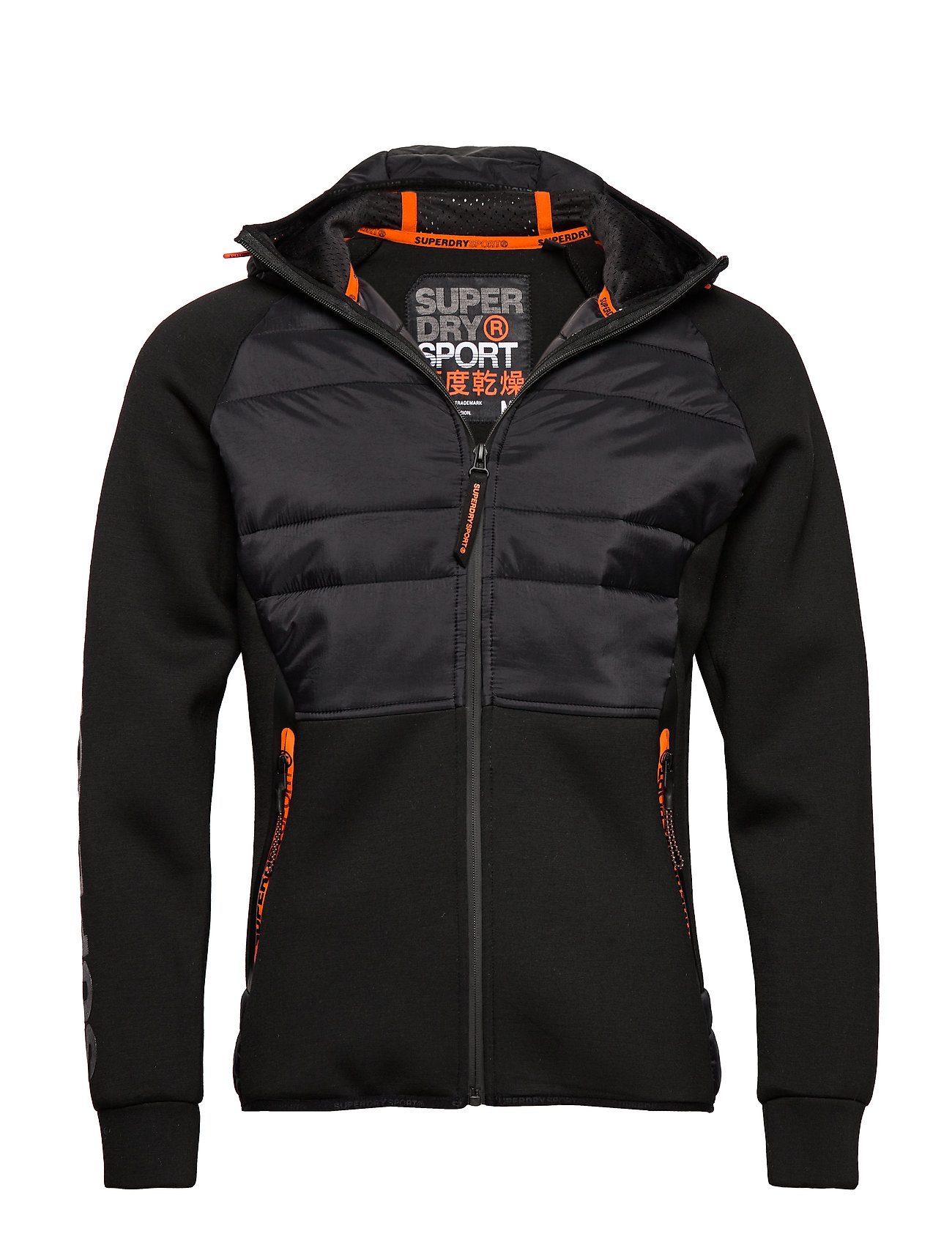 Superdry Sport GYM TECH STRETCH HYBRID - BLACK