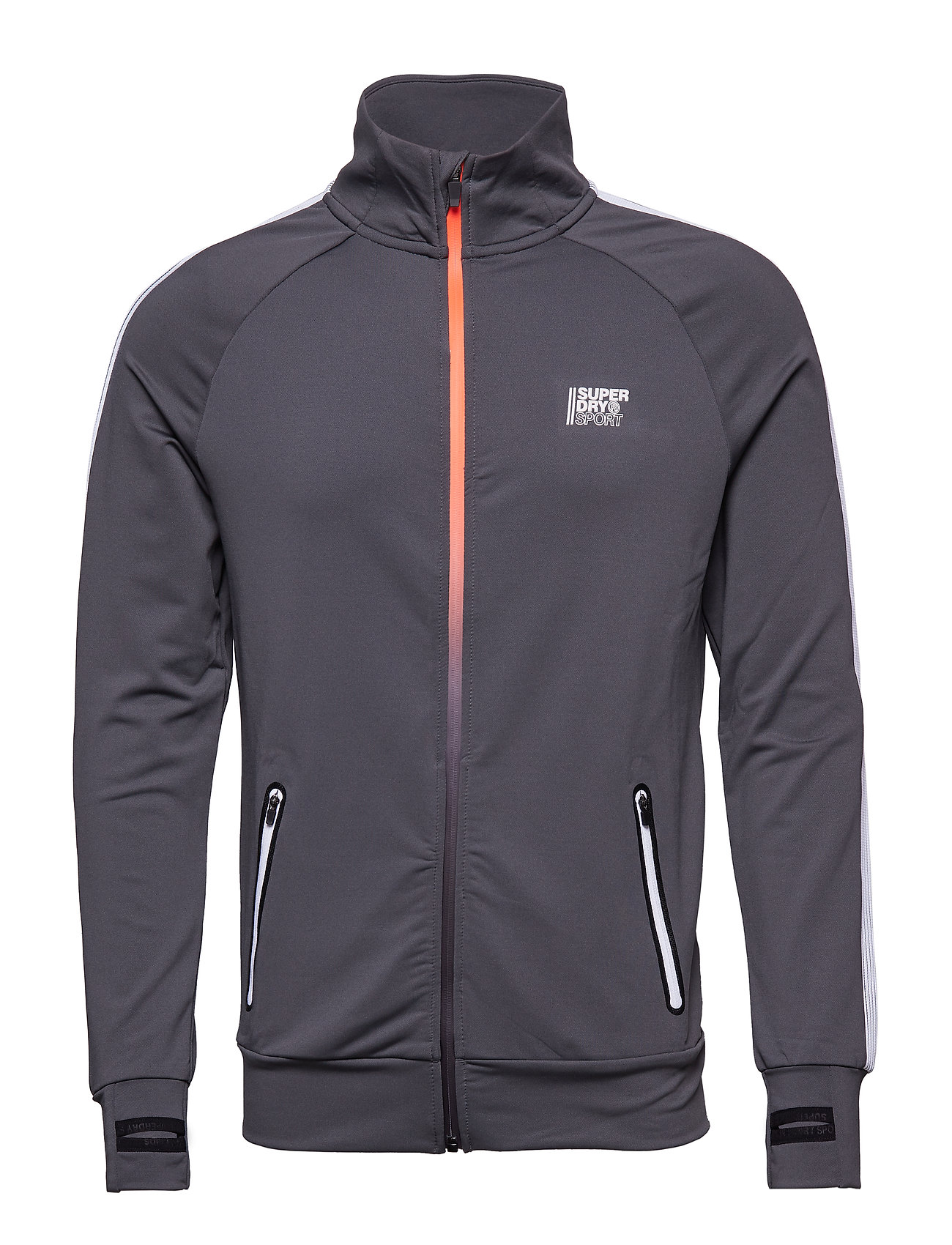 Superdry Sport ACTIVE TRAINING TRACK TOP - COOL OLIVE