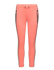 CORE GYM TECH SLIM JOGGER - FLURO CORAL