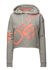 SUPER YOGA MEGA HOODY - MUTE GREY