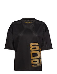 BOLT SPORT TEE - BLACK/GOLD