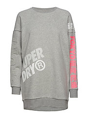 JAPAN EDITION OVERSIZE SWEAT - GREY MARL