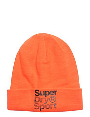 FOLD SPORT BEANIE - HAZARD ORANGE