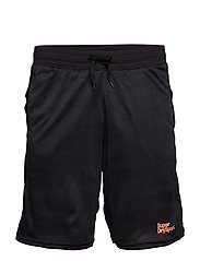 ACTIVE CAMO JACQUARD SHORT - BLACK