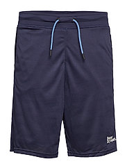 ACTIVE CAMO JACQUARD SHORT - DARK NAVY