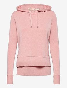 ACTIVE STUDIO LUXE HOOD - hoodies - dusk pink marl