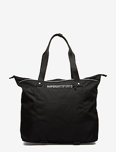 FITNESS TOTE - gym bags - black