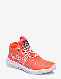 SUPER FREESPRINT WEAVE - treningssko - coral/grey/white