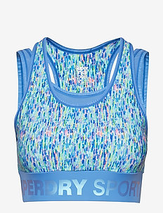 ACTIVE LAYER BRA - MARI MARK PRINT
