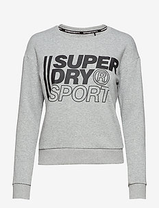 CORE SPORT CREW - GREY MARL