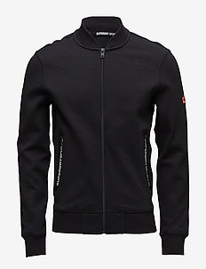 GYM TECH BOMBER - sweatshirts - black