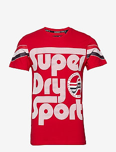 SURF SPORT TEE - RED