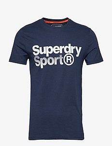 CORE SPORT GRAPHIC TEE - DARK NAVY