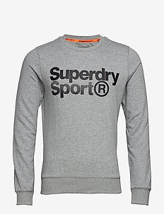 CORE SPORT CREW - LIGHT GREY MARL