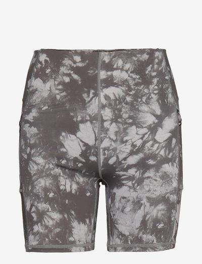 RUN TIGHT SHORT - training shorts - grey tie dye