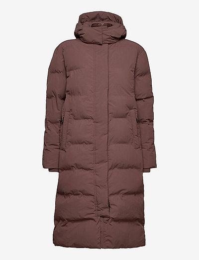 TRAIN LONGLINE PADDED JACKET - winter coats - shopping bag