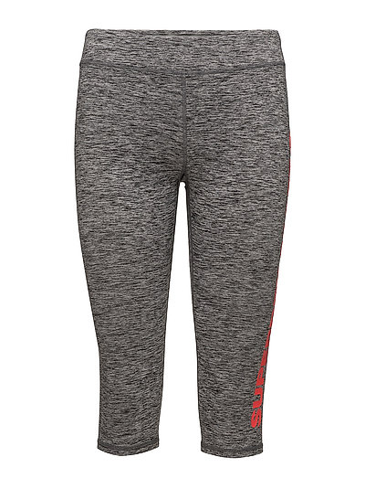 SUPERDRY CORE GYM CAPRI - CHARCOAL GRIT