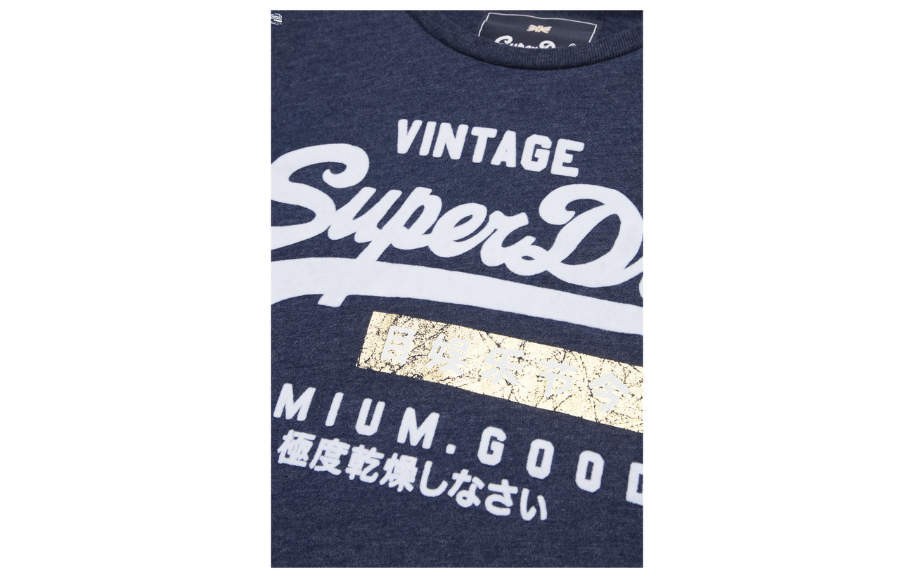 Coton Tee Équipement Marl 43 Sport Entry Superdry Goods Polyester Grey 57 Premium wqfpSS