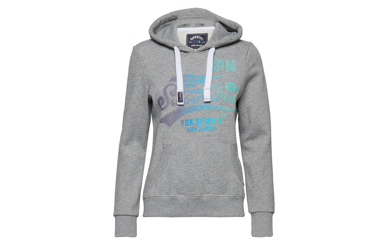 Grey 41 Fade Coton 59 Équipement Dot Superdry Polyester Nep High Flyers Hood Entry PSEYEn6pqw