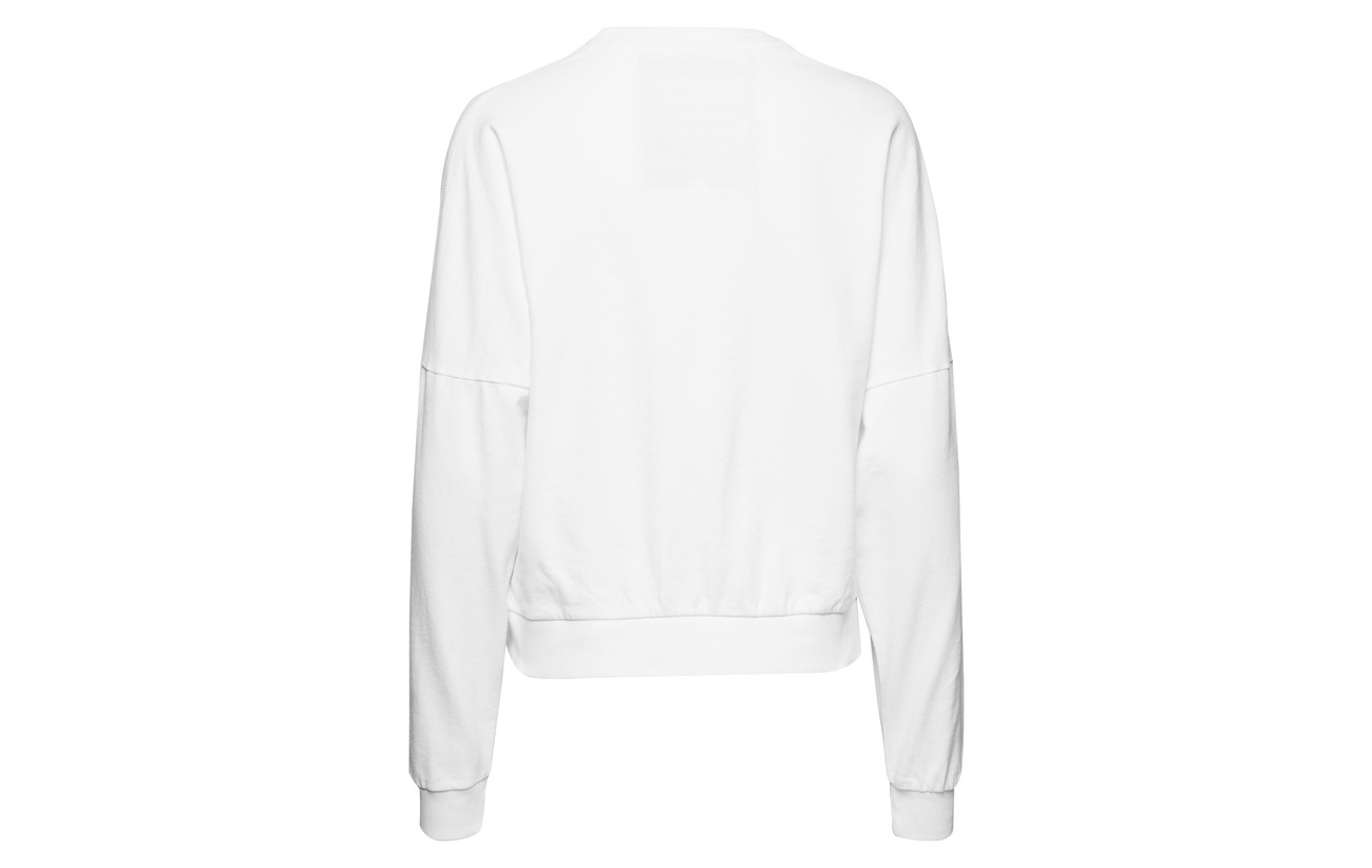 Coton Équipement Off 100 La Superdry Downtown White Crew xqWz47f