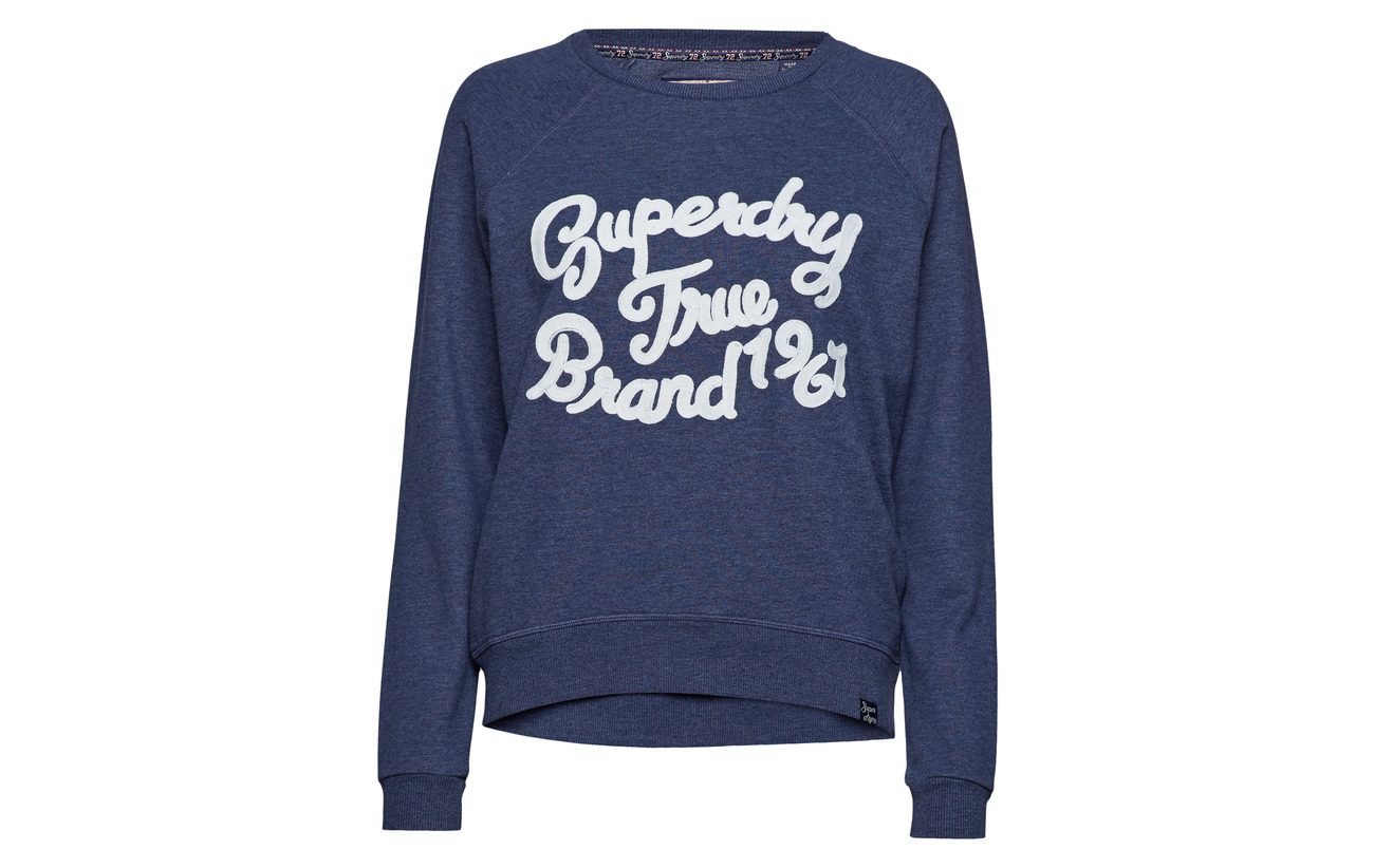 Crew Grey 56 Polyester Équipement Marl 44 Piper Coton Broderie Superdry Folk qv0OEIxf