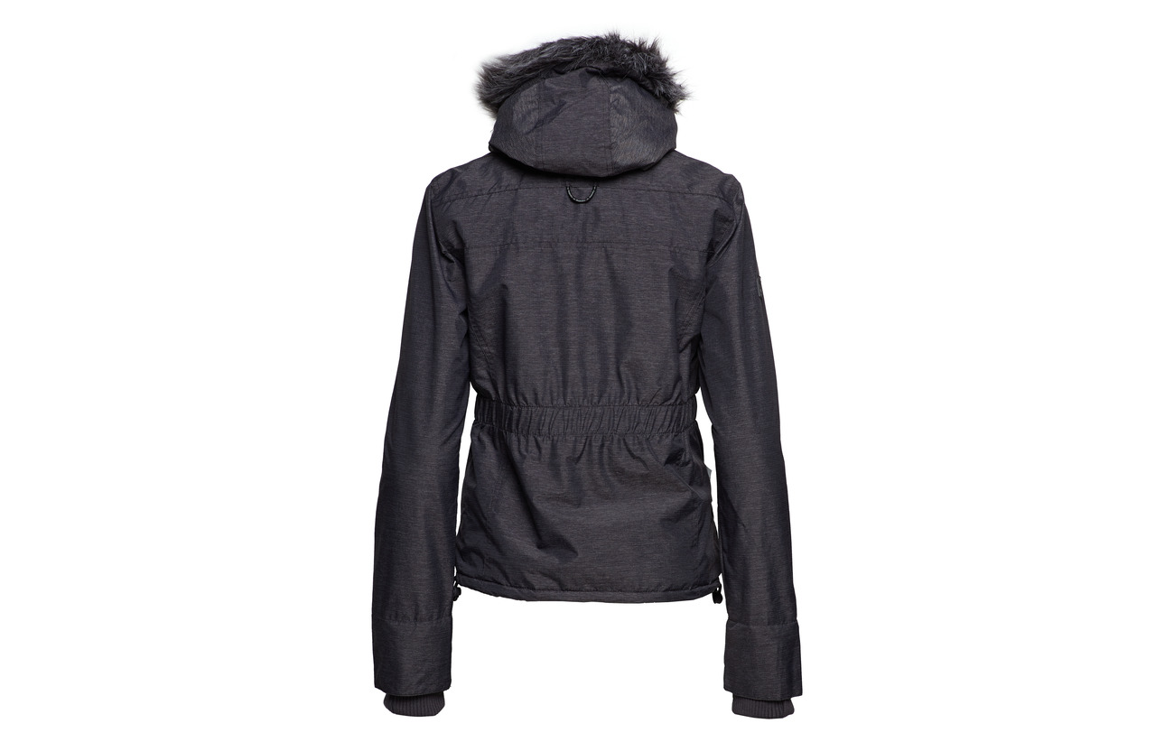 Superdry Équipement Sherpa Charcoal Attacker 70 30 Fur Mid Hood black Marl Polyester Wind Nylon rEzwqYrxC