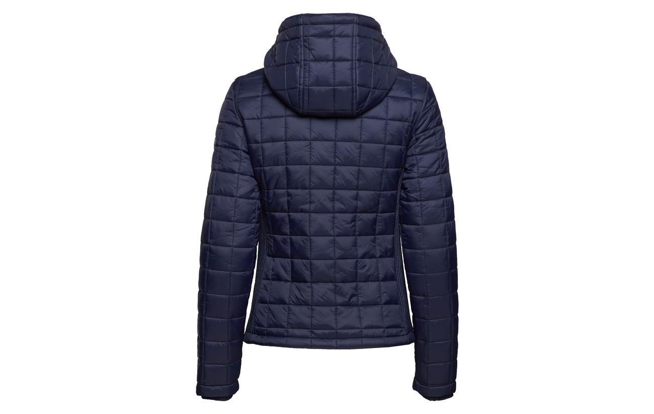100 Box Nylon Fuji Quilt Hooded Équipement Superdry Sport Code Jacket Pink zSqRppwax