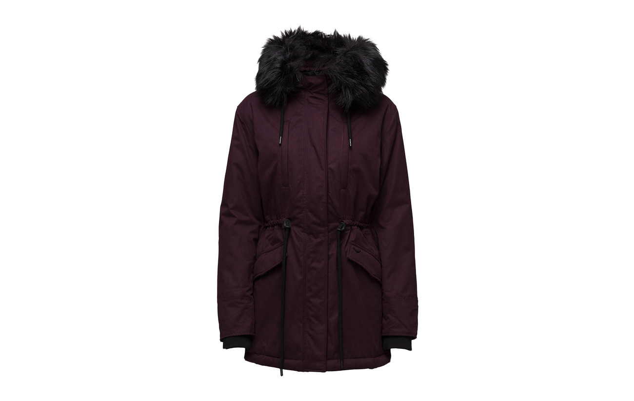 Charcoal Équipement 2 Superdry 14 Coton Viscose Polyester 70 Elastane Alessandra Parka HAAqxUE