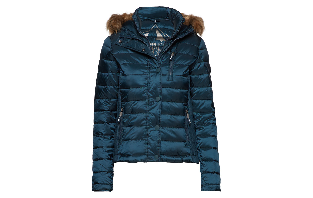 Hood Fuji Superdry Dark Double 100 Zip Teal Équipement Nylon Luxe qTwwBI