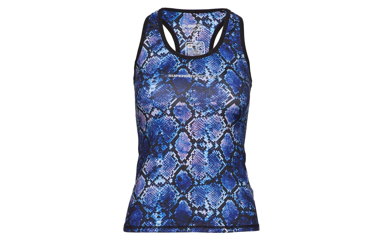 92 Polyester Vest Charcoal Superdry Équipement Gym Elastane Core Speckle 8 6qwaAvZ