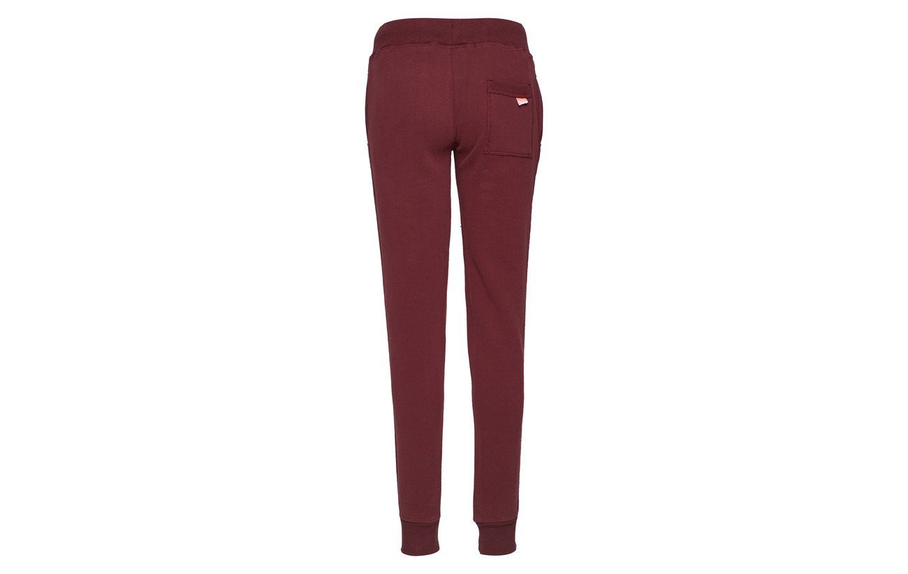 amp; Burgundy Track 26 74 Polyester Équipement Superdry Joggers Coton Field w5qd5IT
