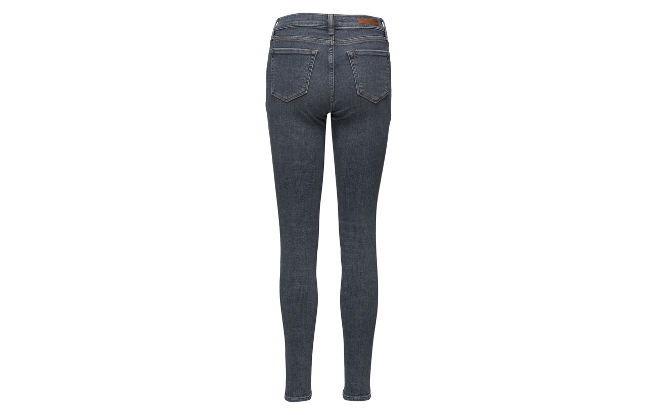 Elastane 99 Rise Équipement Super Grey Crafted Mid Skinny Nero 1 Superdry Coton wUnOPHFF
