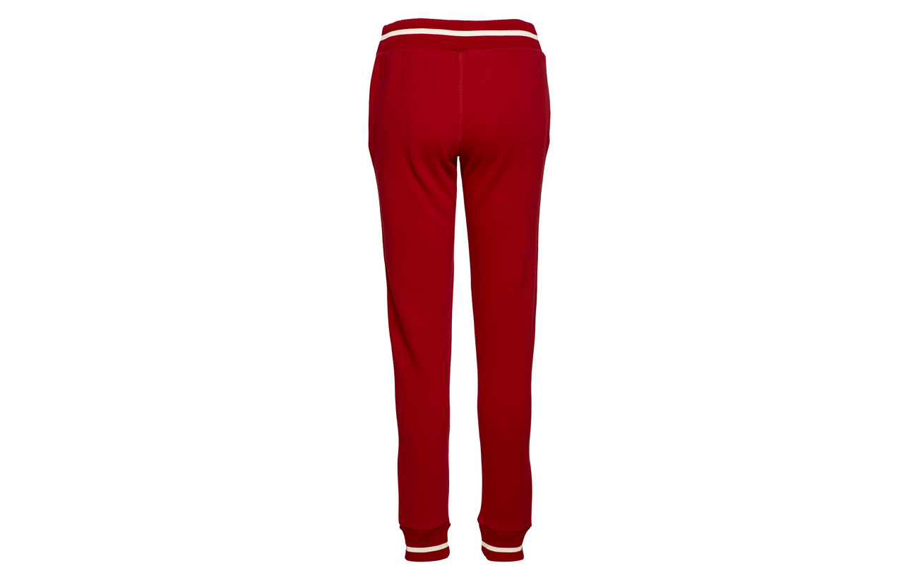 Playoff Polyester Red Superdry 11 Centre Équipement Back Jogger Coton 89 CqUUdw14