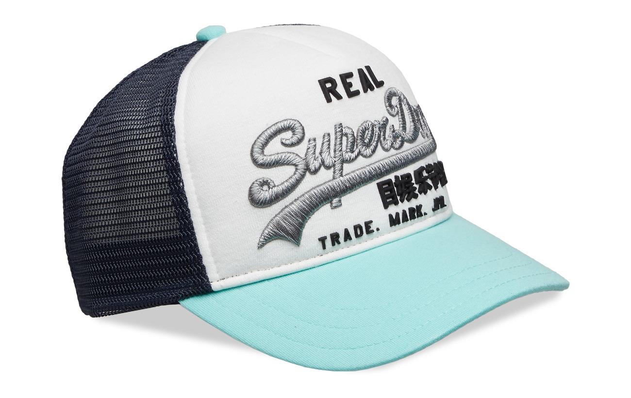 bcd8f3cb Premium Goods Cb Trucker Cap (Soft Mint/white) (22.74 €) - Superdry ...