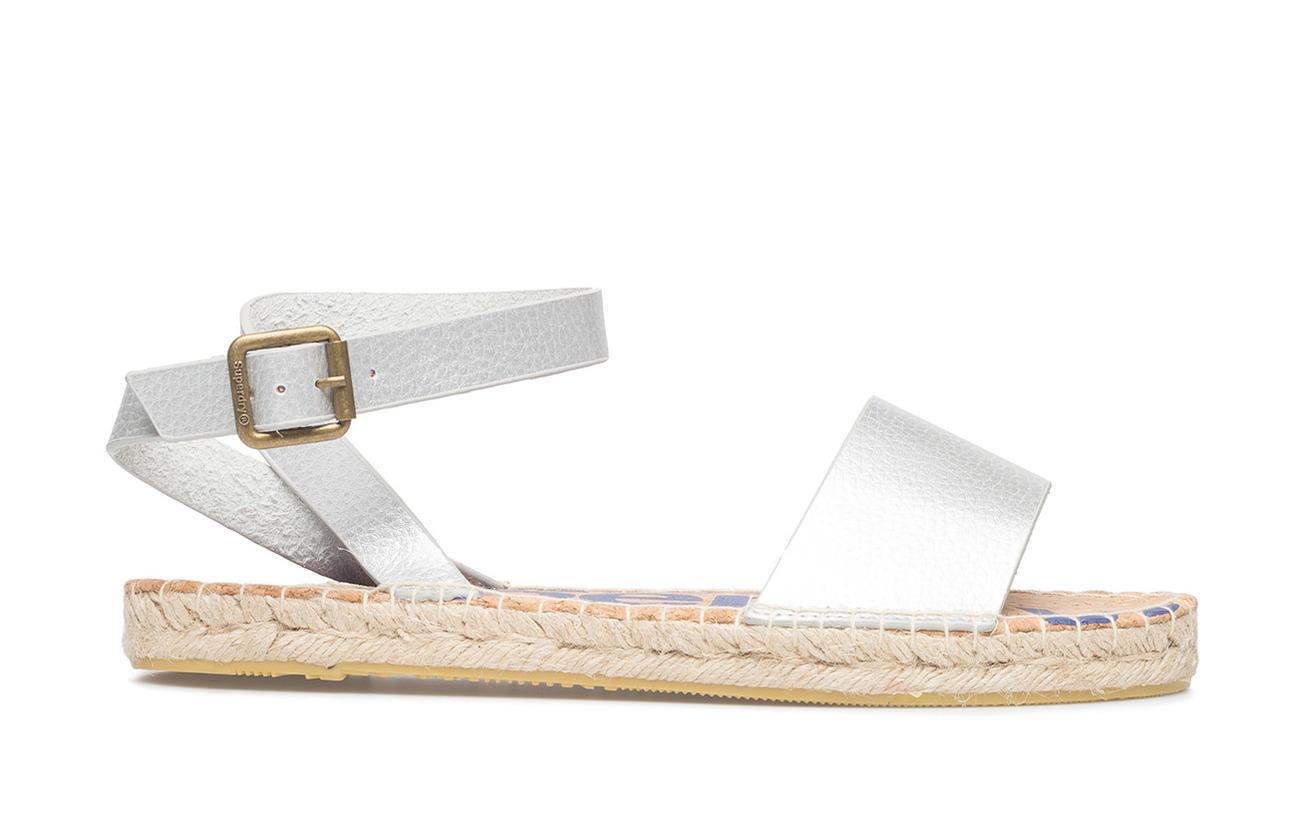 Polyurethane Superdry Sandal 100 Strap Sofia Espadrille Pink Shocking nUUc6SBgW