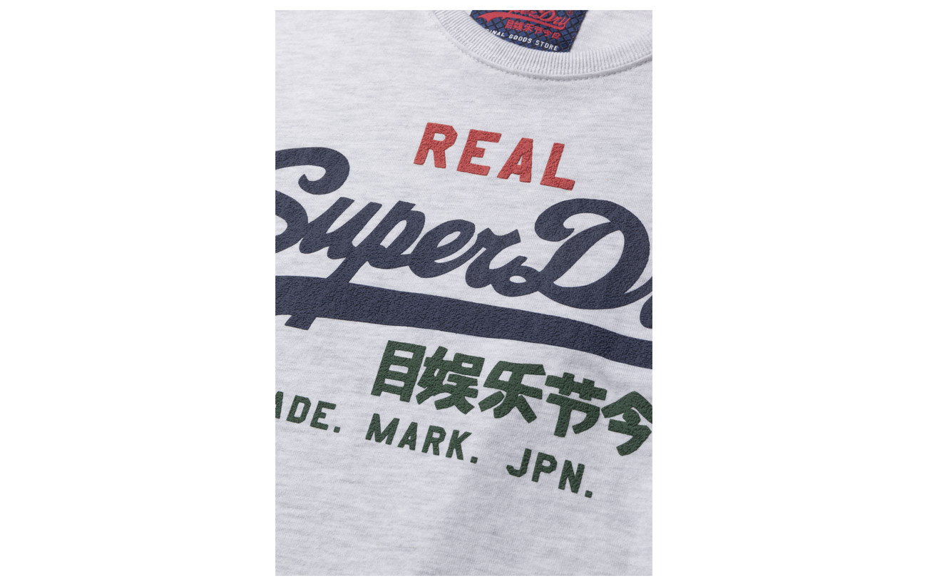 Vintage Tee Logo Marl Ice Tri Superdry zd6vxSqz