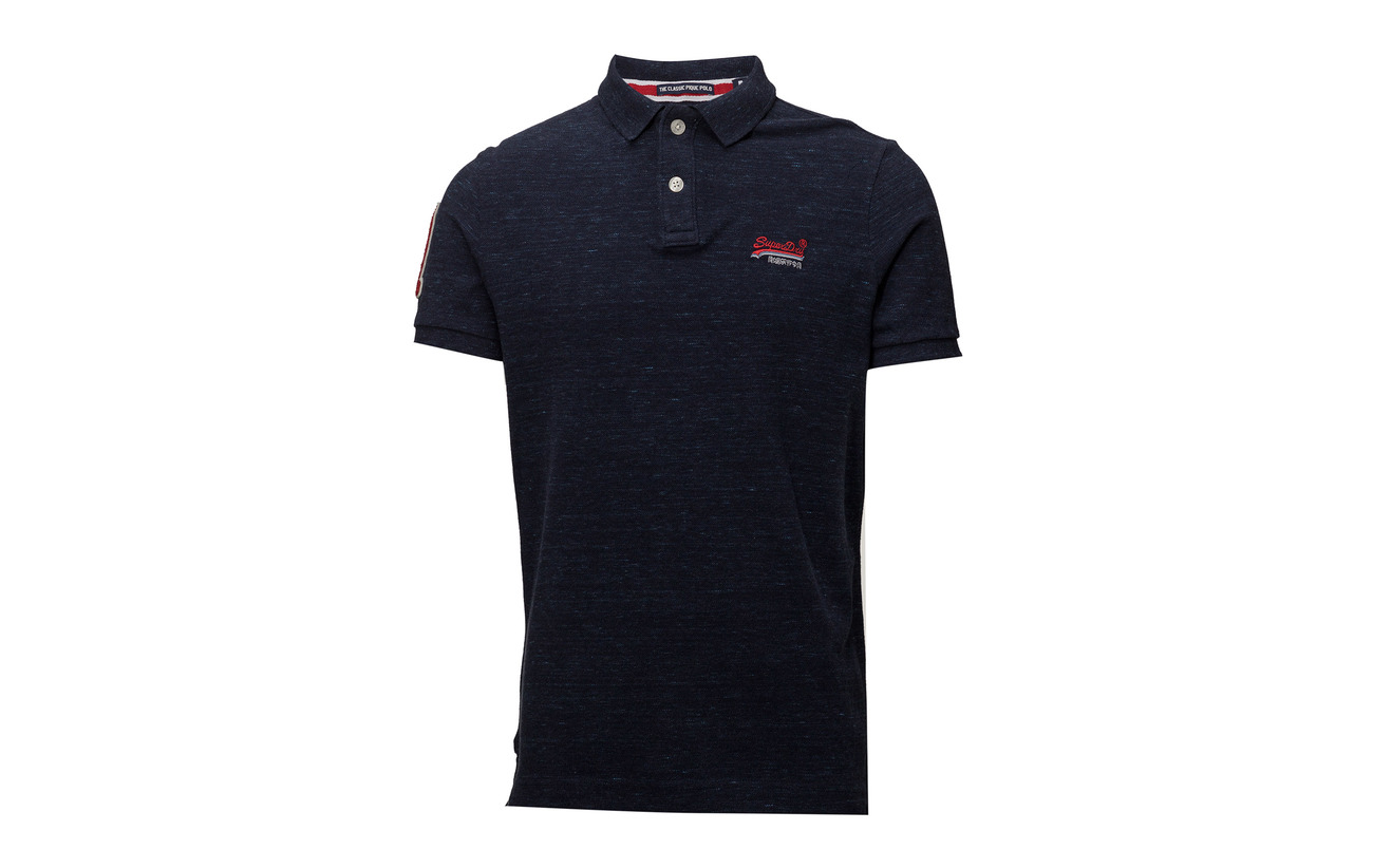 s Classic Grit S Superdry Grey Cinder Polo Pique PO1wgwqE