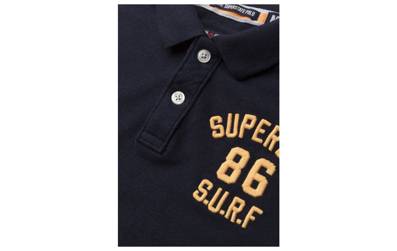 Polo s Superstate Grindle Superdry Grey Plate S Classic Tq8nnBU