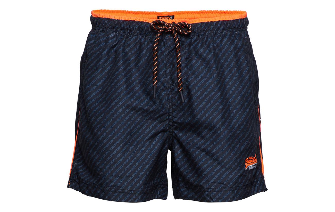 Short Swim Superdry Orange Black havana Beach Volley Eqwqn0rtT