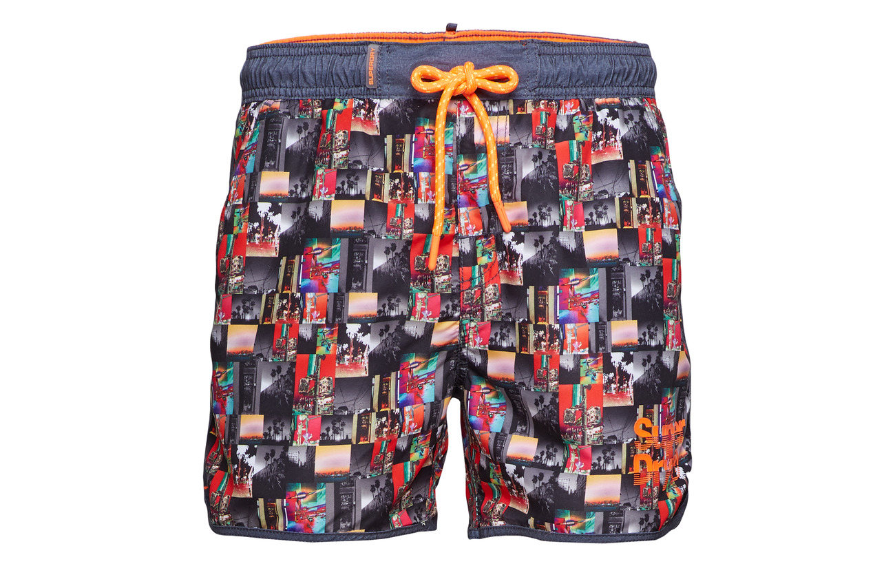 Echo Superdry Racer Splatter Aop Darkest Short Swim Navy Zq1qwBg